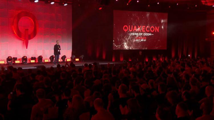 Quakecon at Home announcement