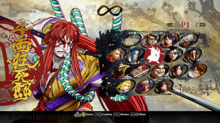 Samurai Shodown Base Roster