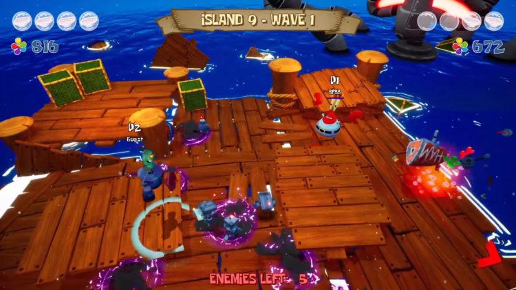 horde mode Spongebob Squarepants Battle For Bikini Bottom Rehydrated Multiplayer Trailer 0 30 Screenshot