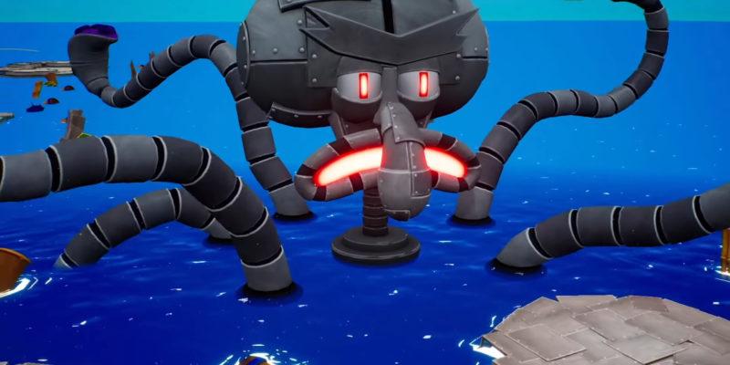 Spongebob Squarepants Battle For Bikini Bottom Rehydrated Multiplayer Trailer Robo Squidward Horde Mode 0 41 Screenshot