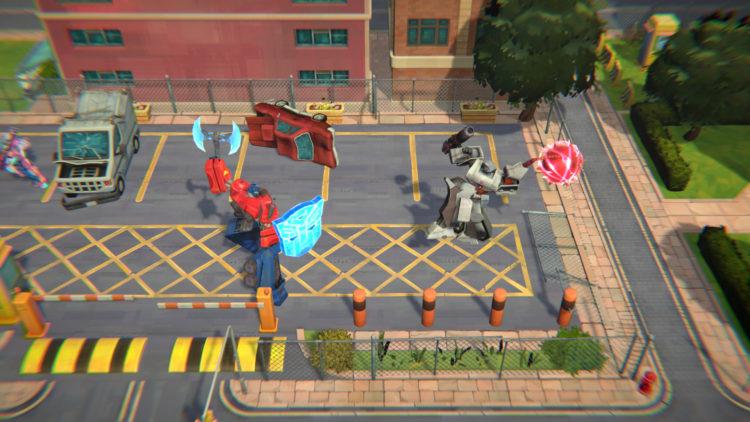 Рекламный ролик Bandai Namco Transformers Battlegrounds