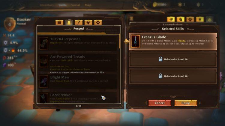 Torchlight Iii Torchlight 3 Legendarium Legendary Skills And Passives Guide 4
