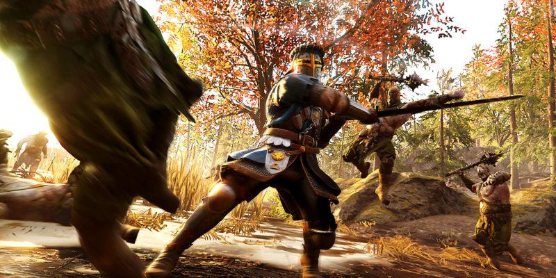 Warhammer Vermintide 2 Grail Knight Kruber