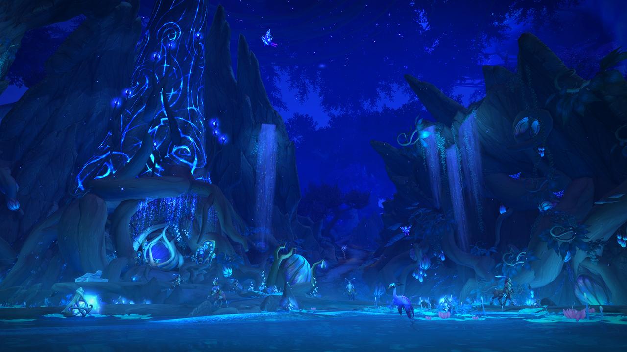 World Of Warcraft Shadowlands Unveils New Ardenweald Zone (1)