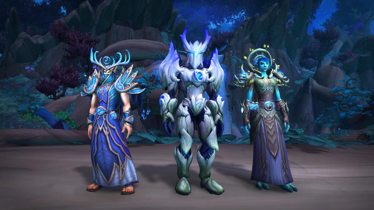 Blizzard WoWShadowlands cosmetics
