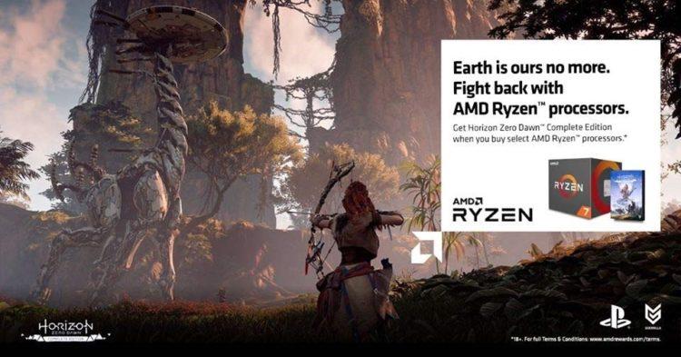 AMD Ryzen CPU Horizon Zero Dawn Promotion