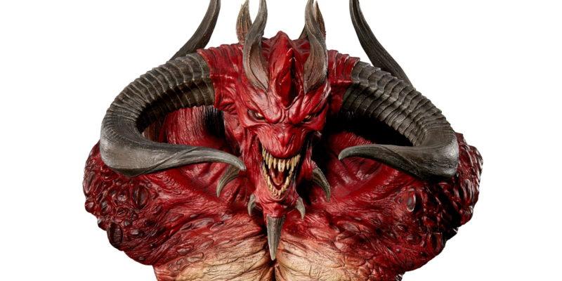 Diablo 2 Ii 20 Year Anniversary Bust Wings