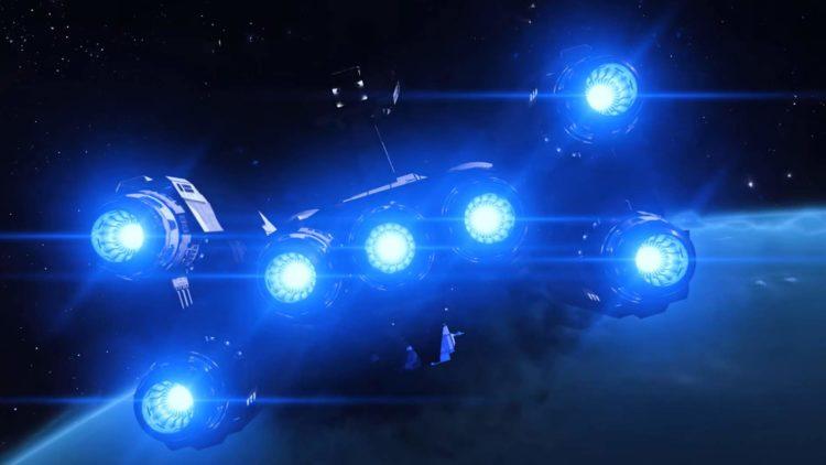 Обновление Elite Dangerous Fleet Carrier бесплатно