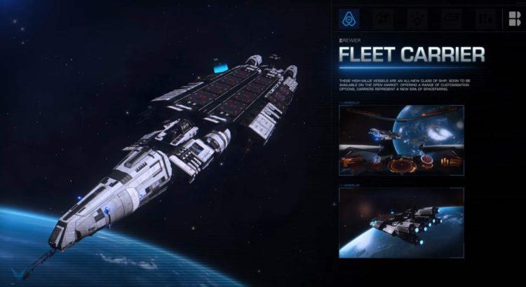 Elite Dangerous Fleet Carriers Update