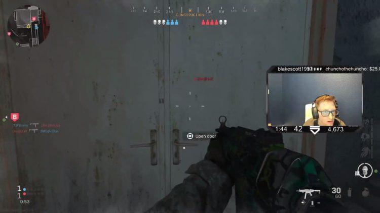 Modern Warfare Scump Nameplate wallhacks bug