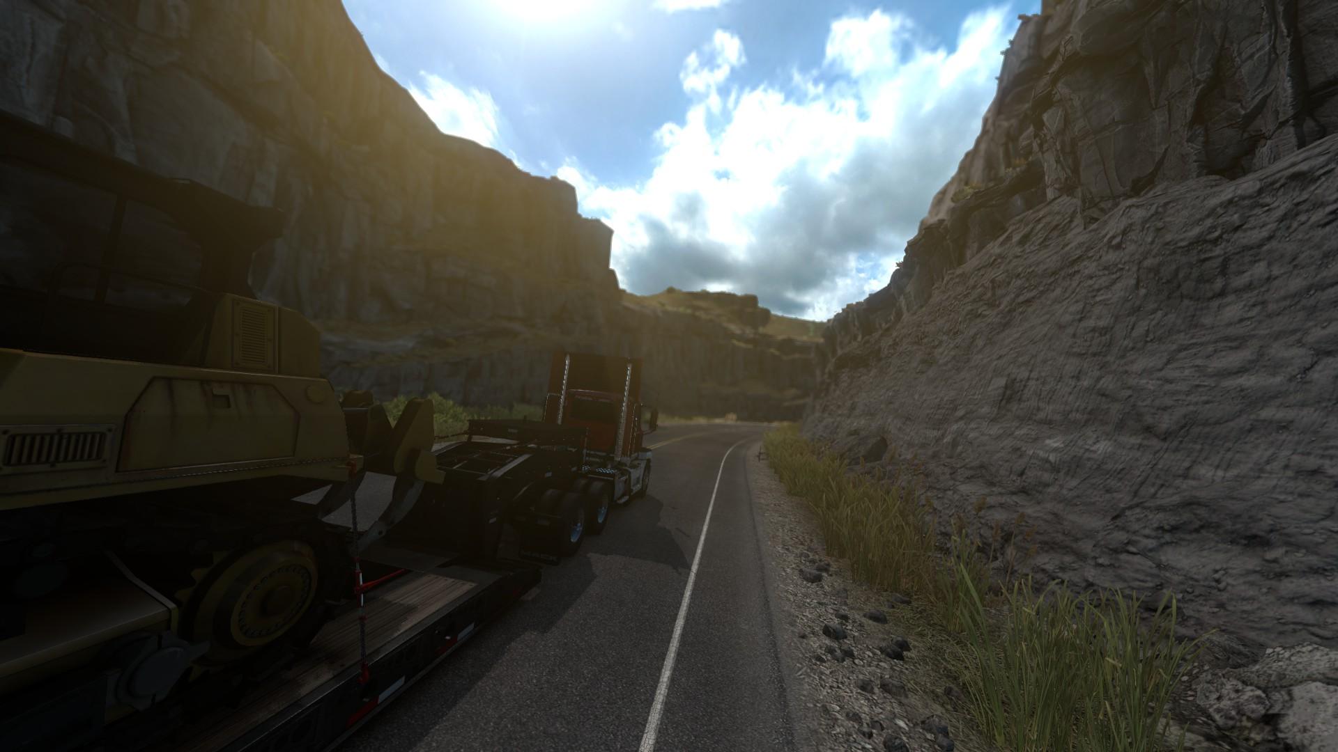 American Truck Simulator Idaho Rock Road