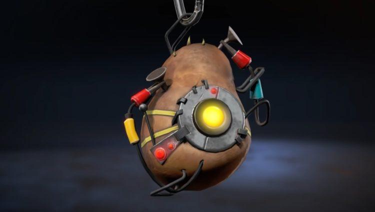 Apex Legends charms featuring GLaDoS potato