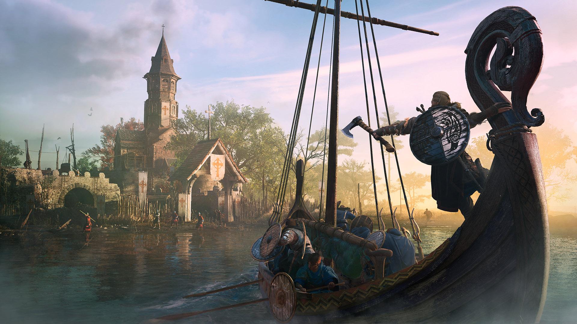 Assassin S Creed Valhalla Viking Tv Ad Brings Eivor To England
