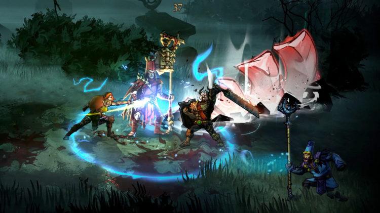 Blightbound Combat