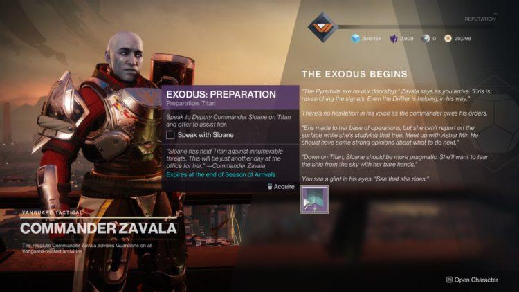 Destiny 2 Season Of Arrivals Exodus Quest Exodus Infused Umbral Engram Ikelos Weapons 1