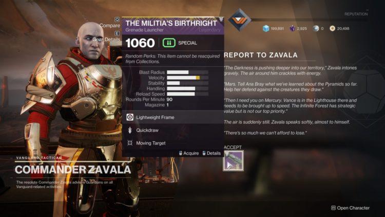 Destiny 2 Season Of Arrivals Exodus Quest Exodus Infused Umbral Engram Ikelos Weapons 3