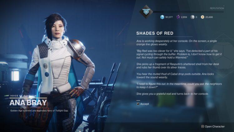Destiny 2 Season Of Arrivals Exodus Quest Exodus Infused Umbral Engram Ikelos Weapons 4
