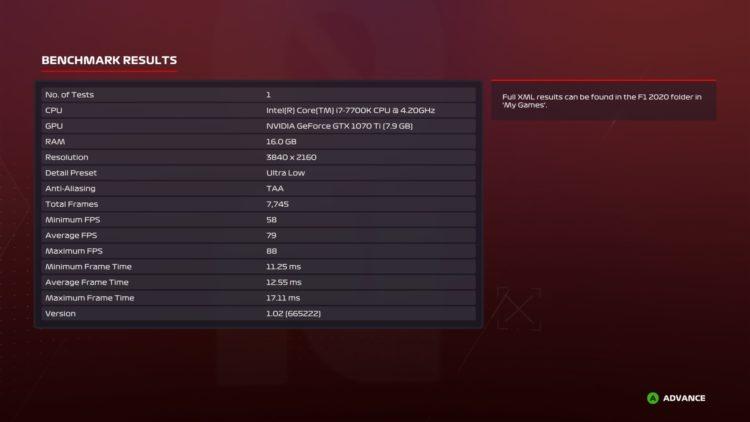 F1trev Bm Results 3