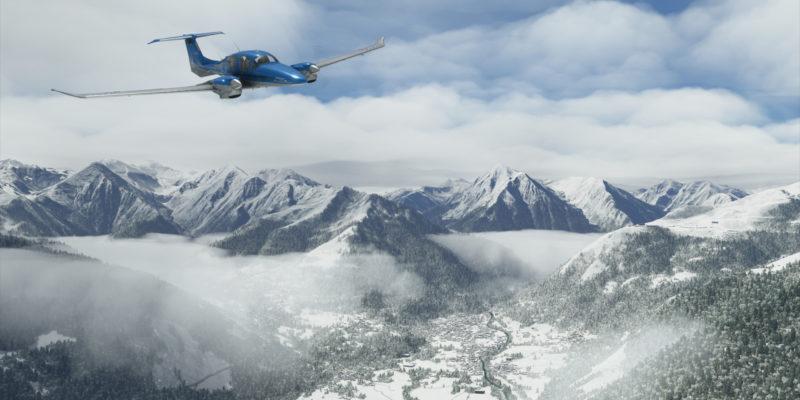 Flight Simulator Da62 Mountains 7k Snow