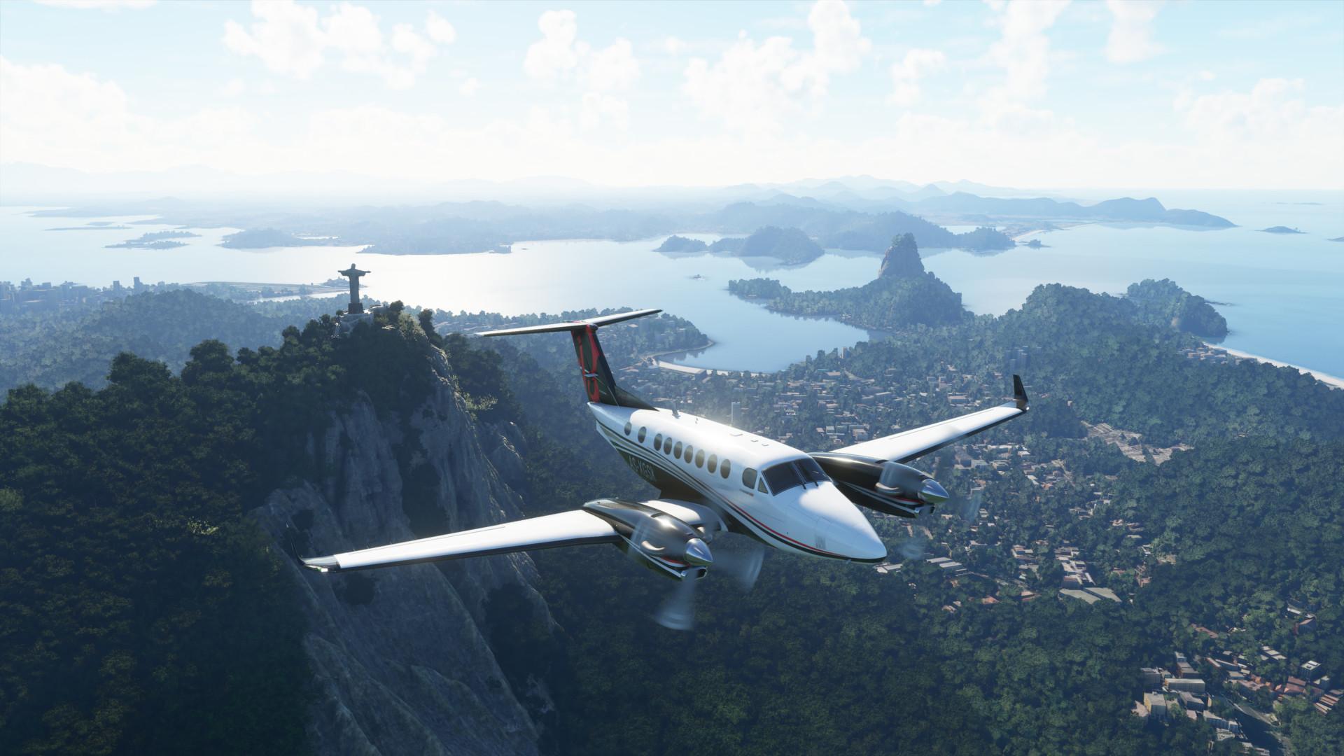 Flight Simulator Vivid Landscape