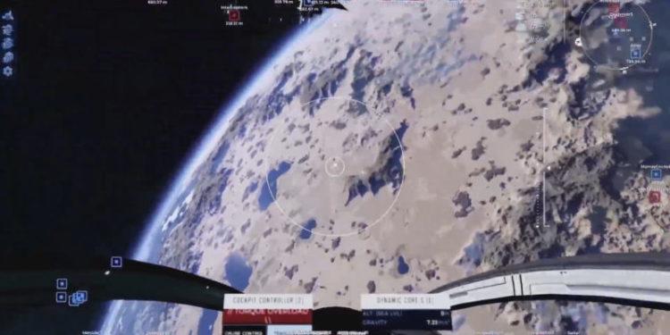 Dual Universe PvP combat reveal