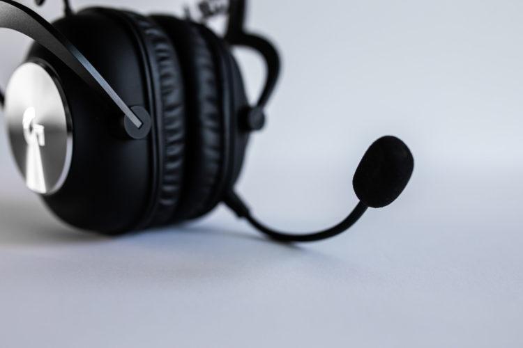 Logitech G Pro X Wireless mic