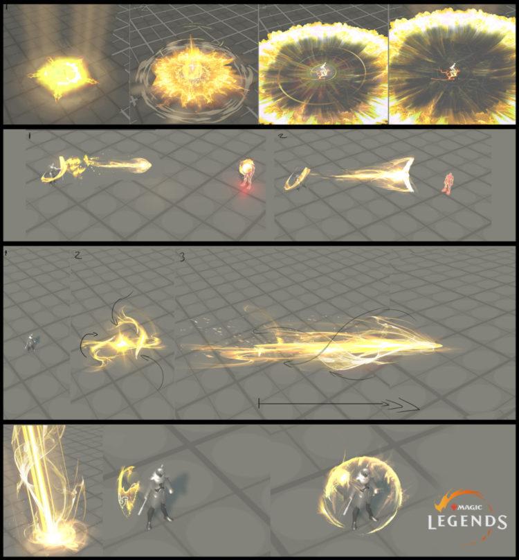 Magic Legends Sanctifier Abilities