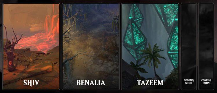 Magic Legends Locations