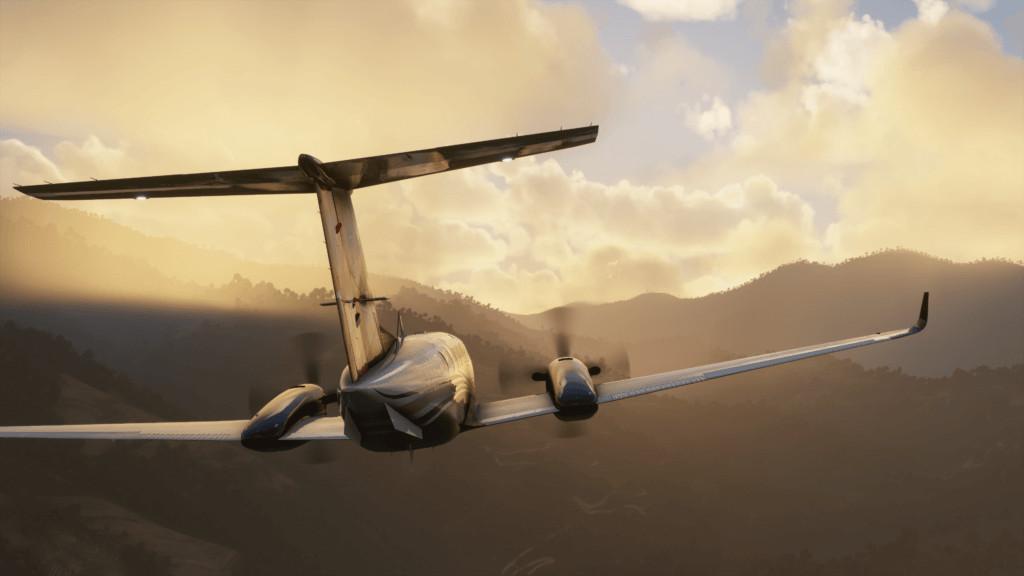 Microsoft Flight Simulator King Air