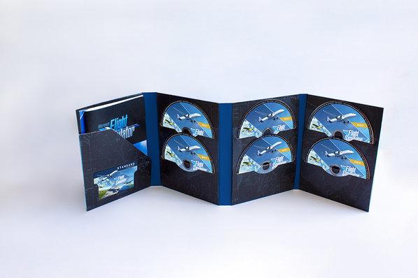 Microsoft Flight Simulator Disc Version