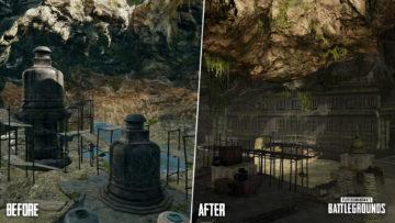 Pubg Sanhok Update Cave