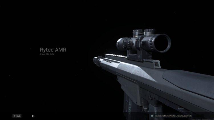 Warzone Rytec Amr sniper