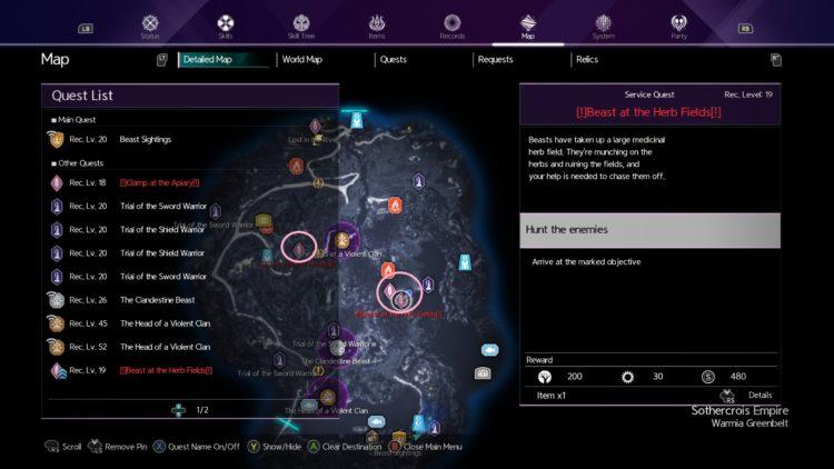 Sword Art Online Alicization Lycoris Beast Sightings Enanza's Request Reunalt's Request 4