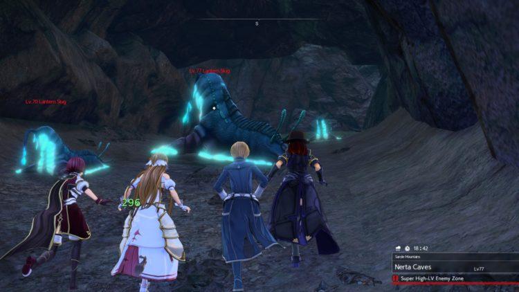 Sword Art Online Alicization Lycoris Bloomcrown The Temptress Divine Beast Monolith Sarole Mountains 1b