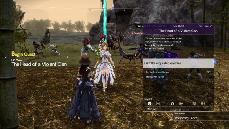 Sword Art Online Alicization Lycoris Bloomcrown The Temptress Divine Beast Monolith Sarole Mountains 3a