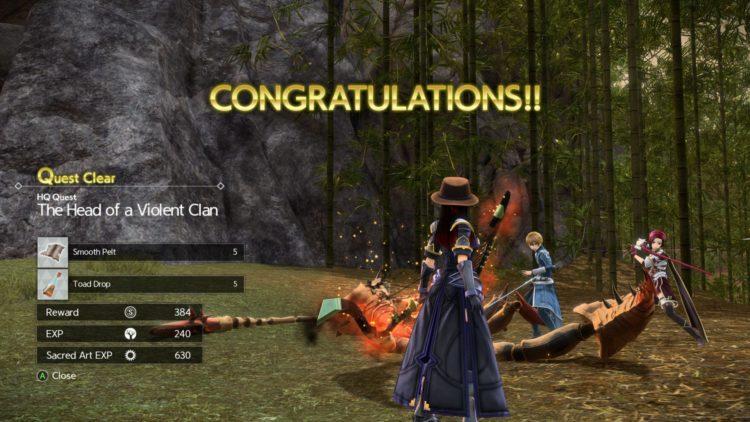 Sword Art Online Alicization Lycoris Bloomcrown The Temptress Divine Beast Monolith Sarole Mountains 3b