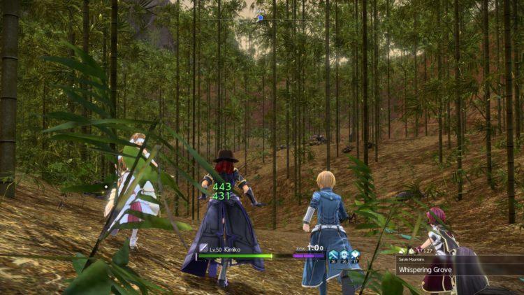 Sword Art Online Alicization Lycoris Bloomcrown The Temptress Divine Beast Monolith Sarole Mountains 4a