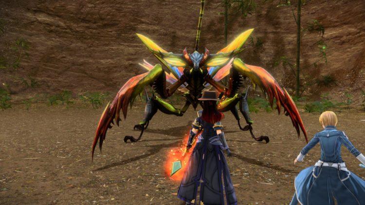 Sword Art Online Alicization Lycoris Bloomcrown The Temptress Divine Beast Monolith Sarole Mountains 4b