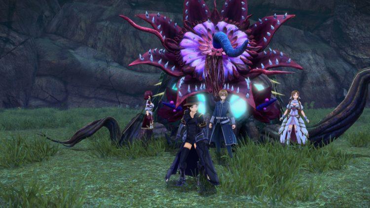 Sword Art Online Alicization Lycoris Bloomcrown The Temptress Divine Beast Monolith Sarole Mountains 5a