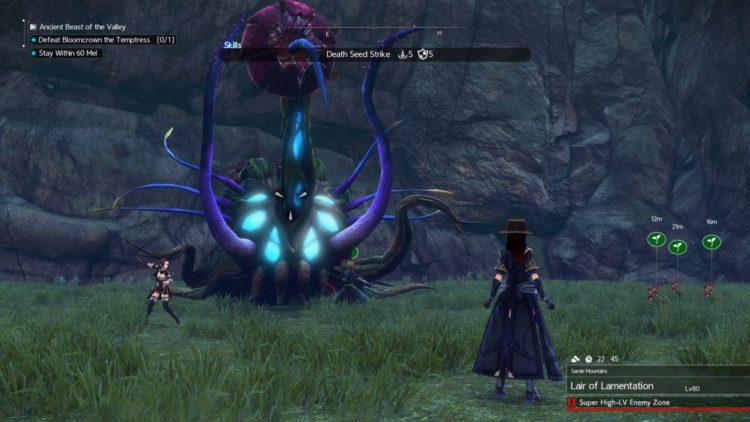 Sword Art Online Alicization Lycoris Bloomcrown The Temptress Divine Beast Monolith Sarole Mountains 5b