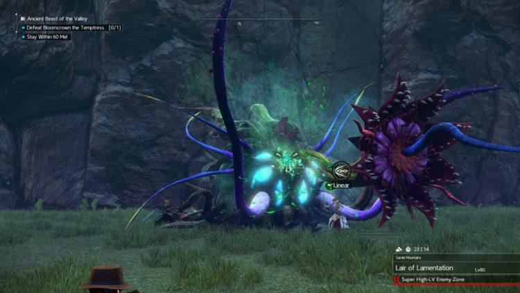Sword Art Online Alicization Lycoris Bloomcrown The Temptress Divine Beast Monolith Sarole Mountains 5d