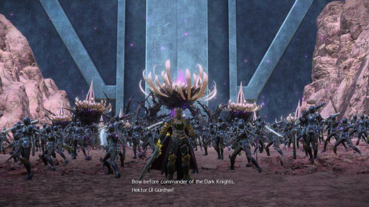 Sword Art Online Alicization Lycoris Commander Gunther Boss Fight Guide Dark Knights 1b