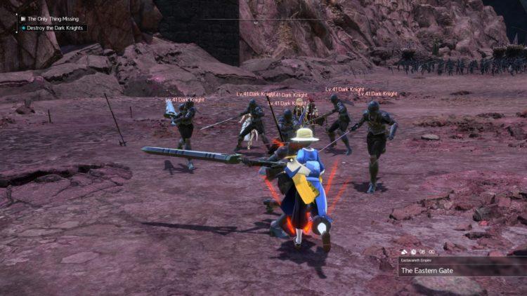 Sword Art Online Alicization Lycoris Commander Gunther Boss Fight Guide Dark Knights 2a