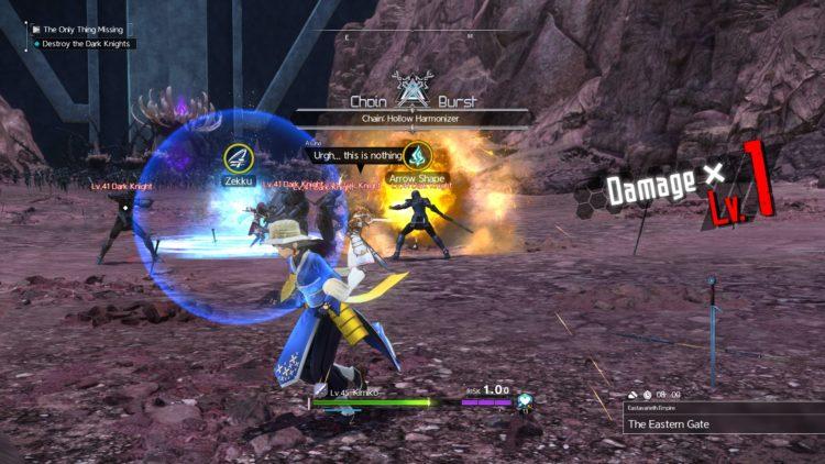 Sword Art Online Alicization Lycoris Commander Gunther Boss Fight Guide Dark Knights 2b