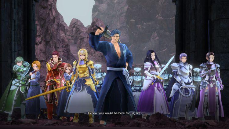 Sword Art Online Alicization Lycoris Commander Gunther Boss Fight Guide Dark Knights 2c