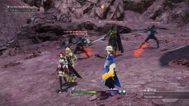 Sword Art Online Alicization Lycoris Commander Gunther Boss Fight Guide Dark Knights 3a