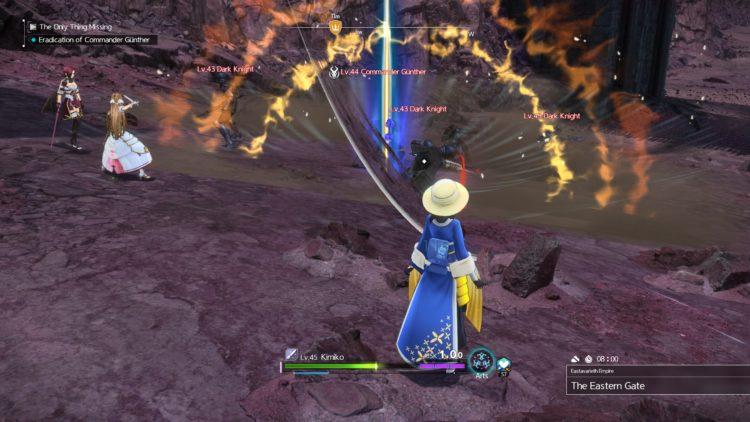 Sword Art Online Alicization Lycoris Commander Gunther Boss Fight Guide Dark Knights 3b