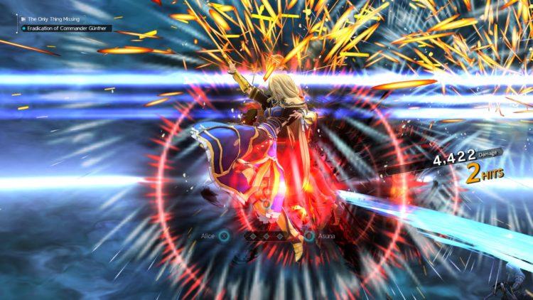 Sword Art Online Alicization Lycoris Commander Gunther Boss Fight Guide Dark Knights 3d