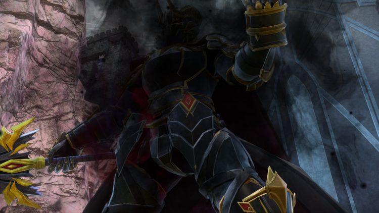 Sword Art Online Alicization Lycoris Commander Gunther Boss Fight Guide Dark Knights 4a