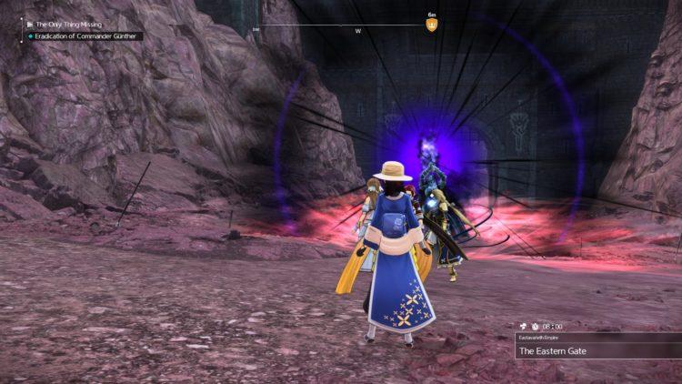 Sword Art Online Alicization Lycoris Commander Gunther Boss Fight Guide Dark Knights 4b